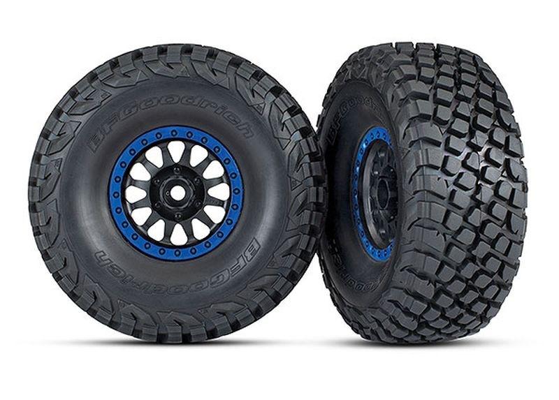 Traxxas Reifen auf Felge montiert BFGoodrich BAJA KR3 Reifen