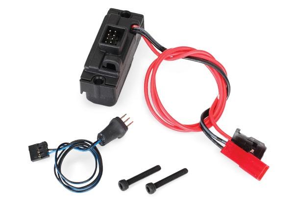 Traxxas LED lights, power supply (regulated, 3V, 0.5-amp),