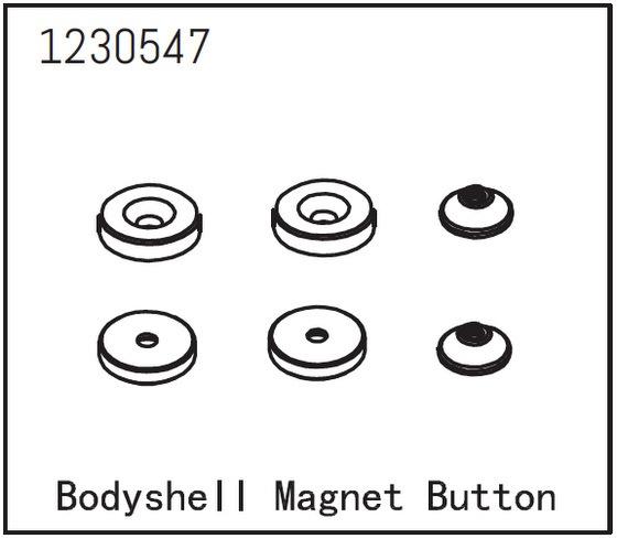 Absima Karosserie Magnetset