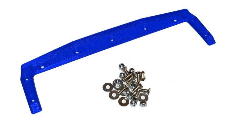 JS-Parts ultraflex Heckkante für X-MAXX Body von TMT blau