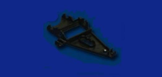 NSR TRIANGULAR AW Motor Support MED BLACK