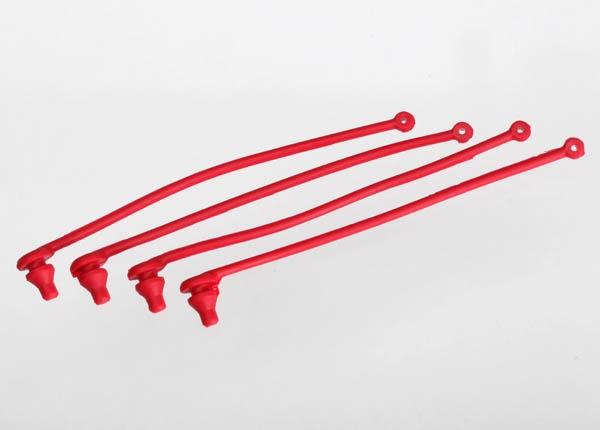 Traxxas Karo-Clip Halter rot (4) Spartan Boot