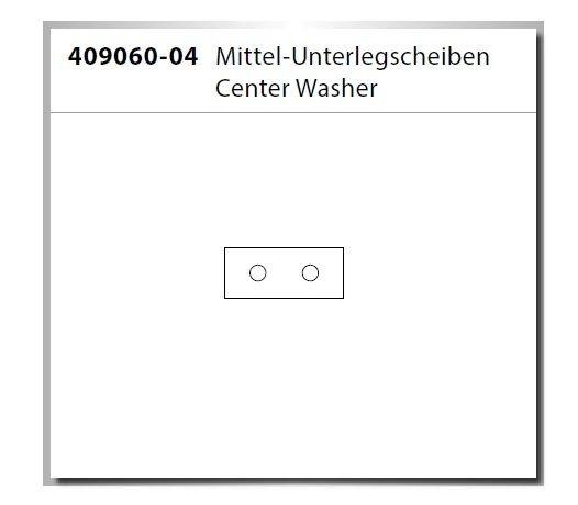 Carson Virus 4.1 Center Washer/Mittel-Unterlegscheiben