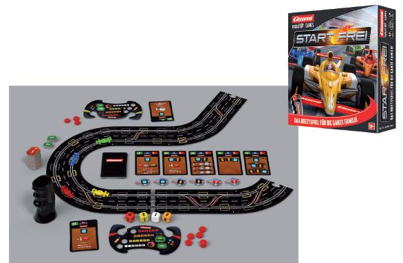 Auslauf - Carrera TableTop Games Start frei