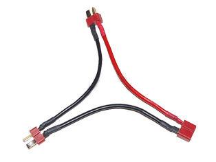 Serielles Kabel T-Plug 2xStecker/1xMuffe