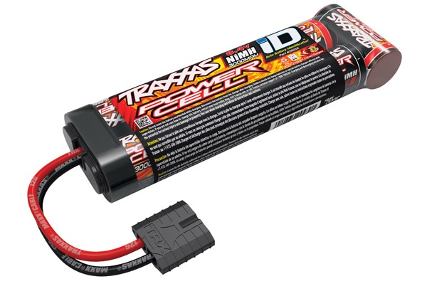 Traxxas Battery, Power Cell, 3000mAh (NiMH, 7-C flat, 8.4V)