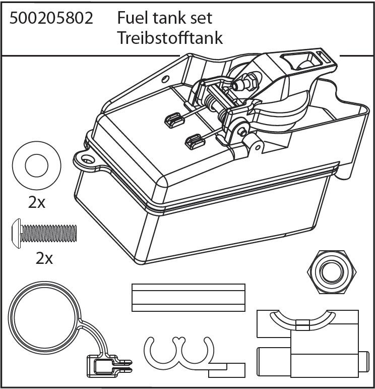 Carson X8N Tank