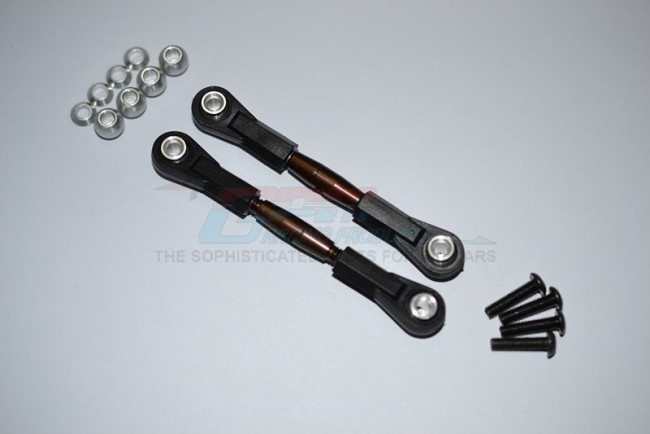 GPM spring steel 4mm thread tie rod with 6.8mm ball plastic