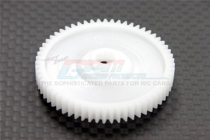 GPM delrin spur gear 42 pitch 61T - 1PC for Tamiya TT-01