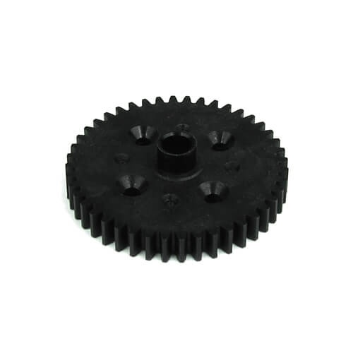 Tekno RC TKR5237K - Spur Gear (44t, black, composite)