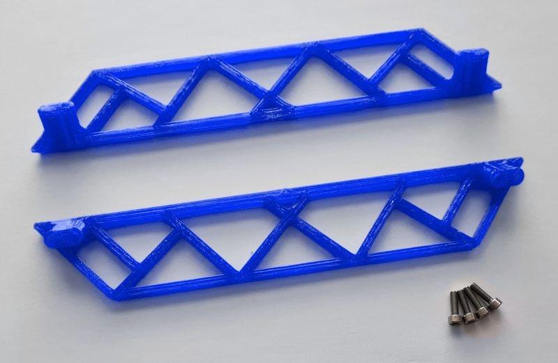 JS-Parts ultraflex Sidebar für Traxxas X-Maxx blau
