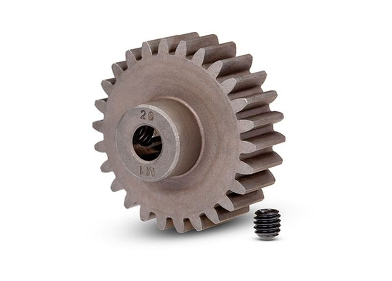 Traxxas Gear, 26-T pinion (1.0 metric pitch)(fits 5mm shaft)