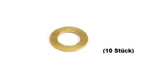 NSR Pick-Up Guide Spacers Leitkieldistanzen .010 BRASS (10)