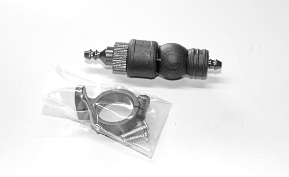 Carson Alu Kraftstofffilter mit Pumpe