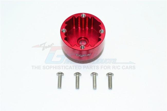 GPM aluminium front/rear diff case - 5PCS Set for Arrma