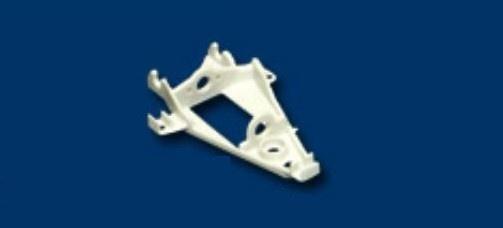 NSR Triangular IL Motor Mount HARD WHITE