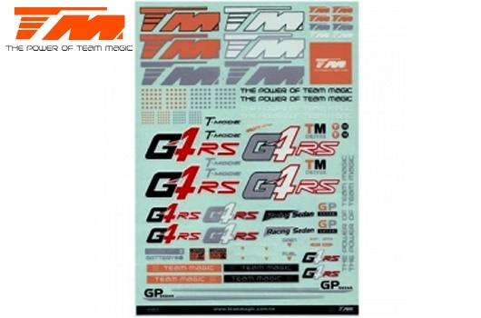 Team Magic Aufkleber - G4RS