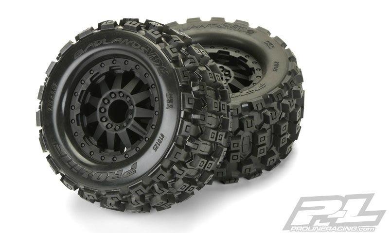 Pro-Line Badlands MX28 AllTerrain Truck Reifen+Felg.verklebt