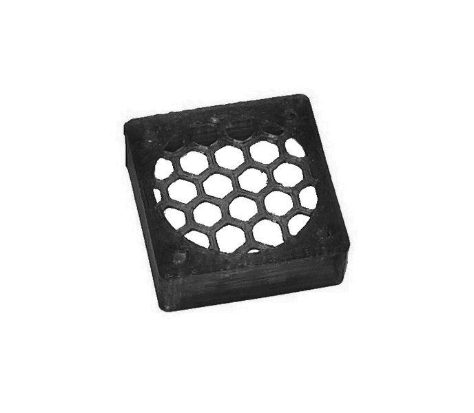 JS-Parts ultraflex Lüftergitter 30x10 geschlossen schwarz