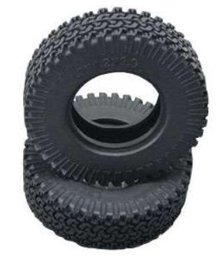 Amewi 96mm Reifen Set mit Einlage D90, Grobprofil 1:10, 2St.