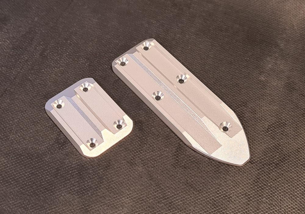 MLine Alutuning Team Magic CNC Skidplate Set