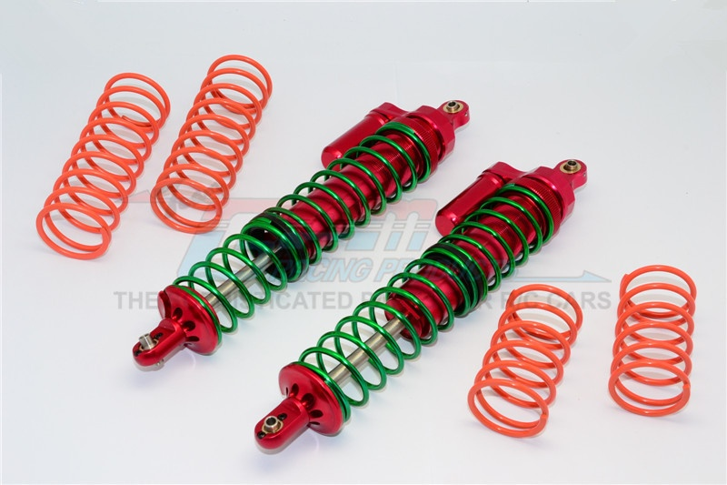 GPM aluminium front/rear adjustable spring shocks - 1PCS for