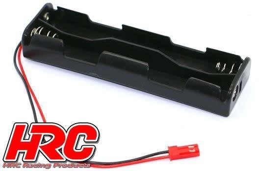 HRC Batteriehalterung - AA - 4 Zellen - Lang (2*2) - mit BEC