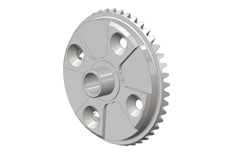 Team Corally Diff. Bevel Gear 43T - Steel - 1 pc