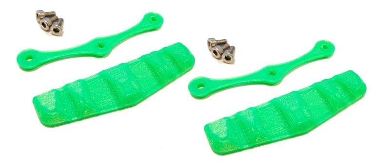 JS-Parts Dachskid breit 70x20mm 2 Stück grün
