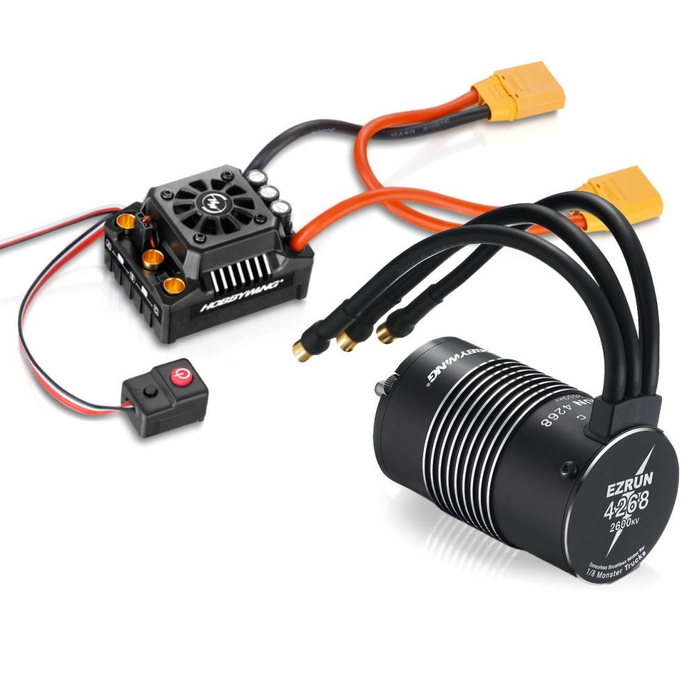 Hobbywing Ezrun MAX8 Combo mit SL-4268-2600kV