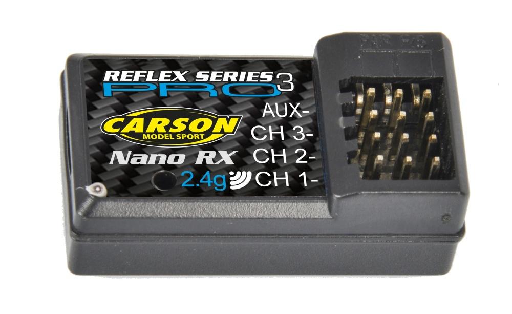 Carson Empfänger Reflex Pro 3 Nano 2.4Ghz
