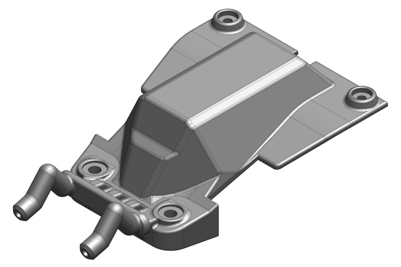 Team Corally Chassis Servo Cover- Composite