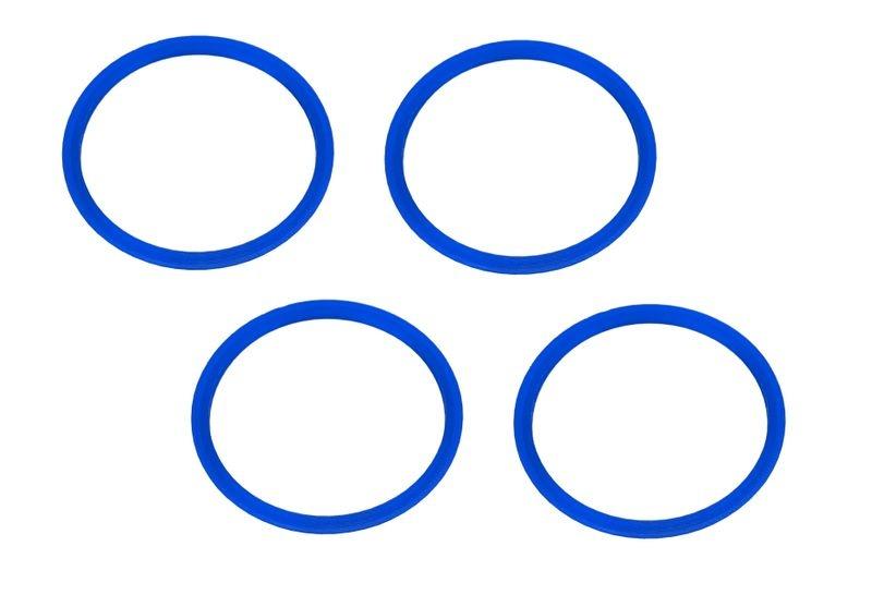 JS-Parts Felgenringe ultraflex blau passend für Off-Road