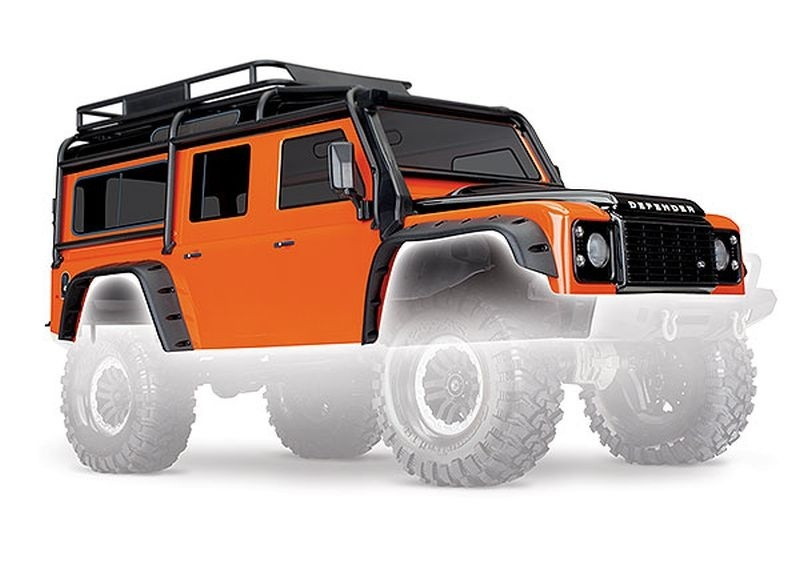 Traxxas Karo, Land Rover Defender, Adventure-Edition