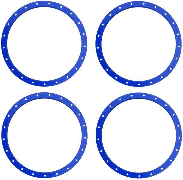 JS-Parts Felgenringe für Louise RC MFT 1:5 blau /