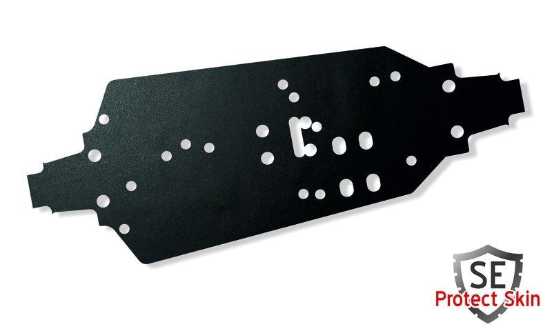 JS-Parts SE Protect Skin Unifarbe Schwarz