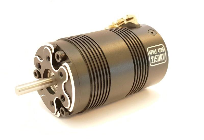 ZTW 1:8 Scale 4 Pole Sensored Brushless Motor 2150kv
