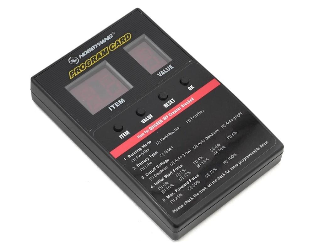 Absima Programmierbox für Crawler 880/Quicrun ESCs