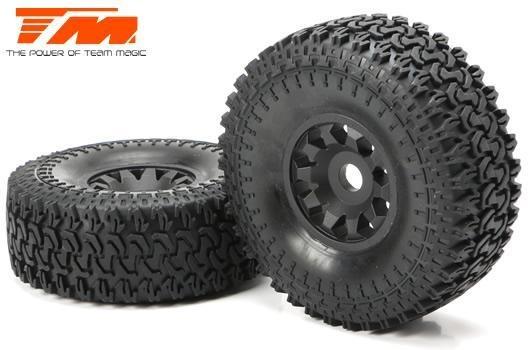 Team Magic Spare Part - SETH - Mounted Tires (2)