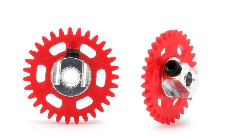 NSR AW 3/32 Plastic Gear/Zahnrad 31T w/alu hub - 16mm