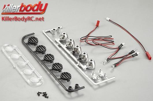 Killerbody Lichtset -  Scale 1:10 Truck  LED - Dach -