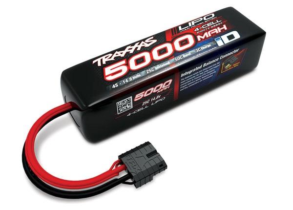 Traxxas Lipo 5000mAh 14,8V 4-Zellen 25C mit ID-Stecker