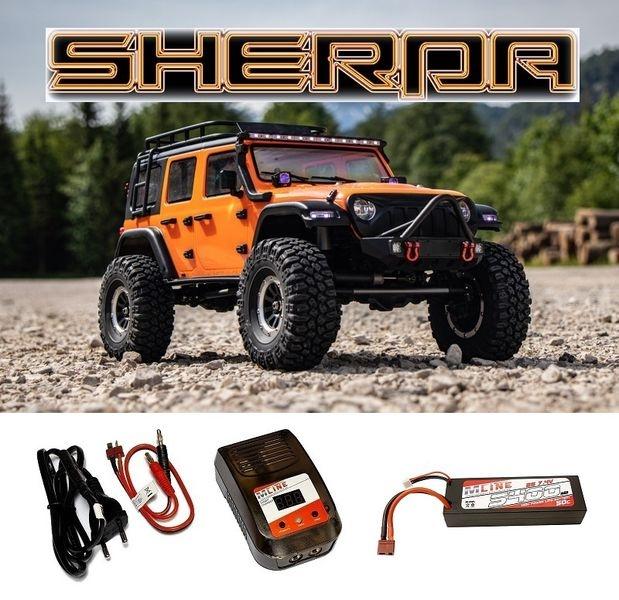 Absima 1:10 EP Crawler CR3.4 SHERPA RTR - orange