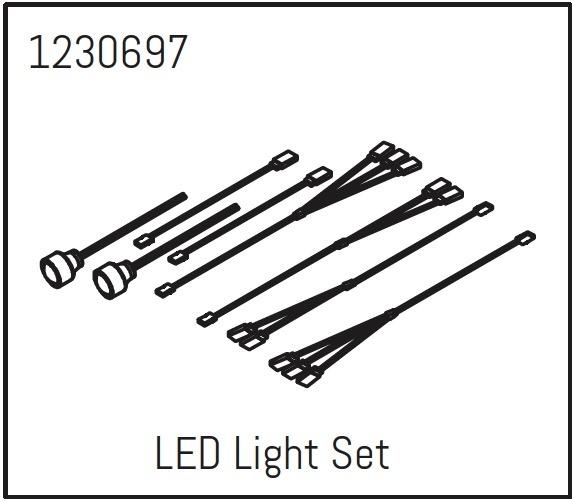 Absima LED Lichtset - Khamba
