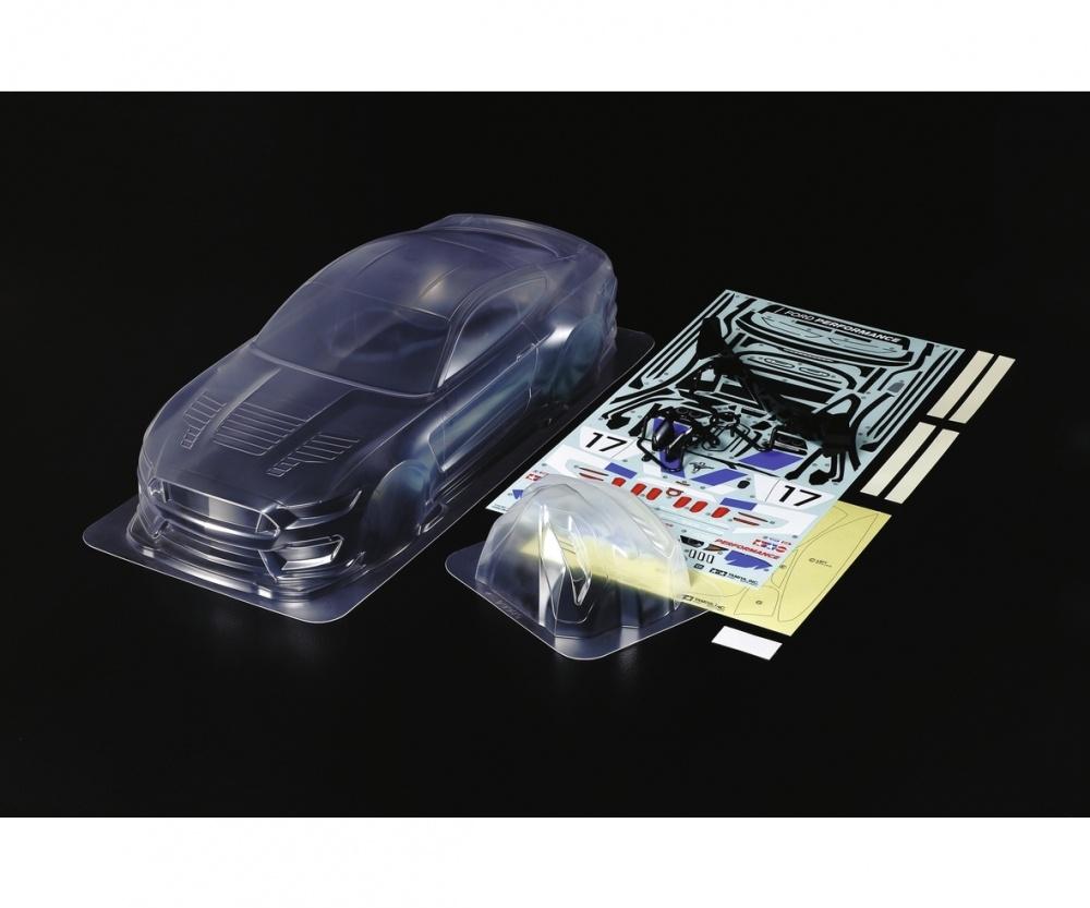 Tamiya RC Karosserie-Satz LW Ford Mustang GT4 1:10