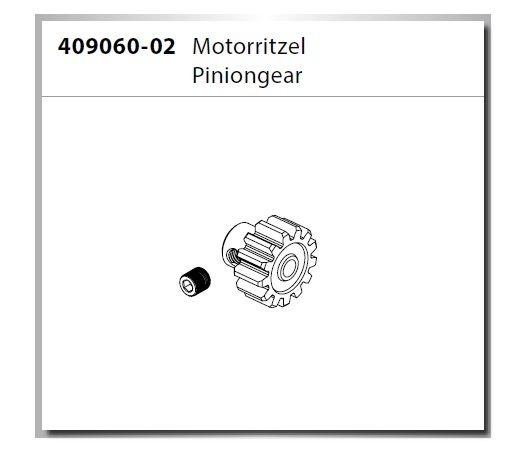 Carson Virus 4.1 Pinion Gear/Motorritzel