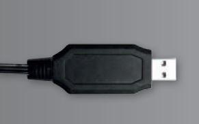 Carrera RC USB Ladekabel für LiFePO4 Akku 3,2V 700mAh