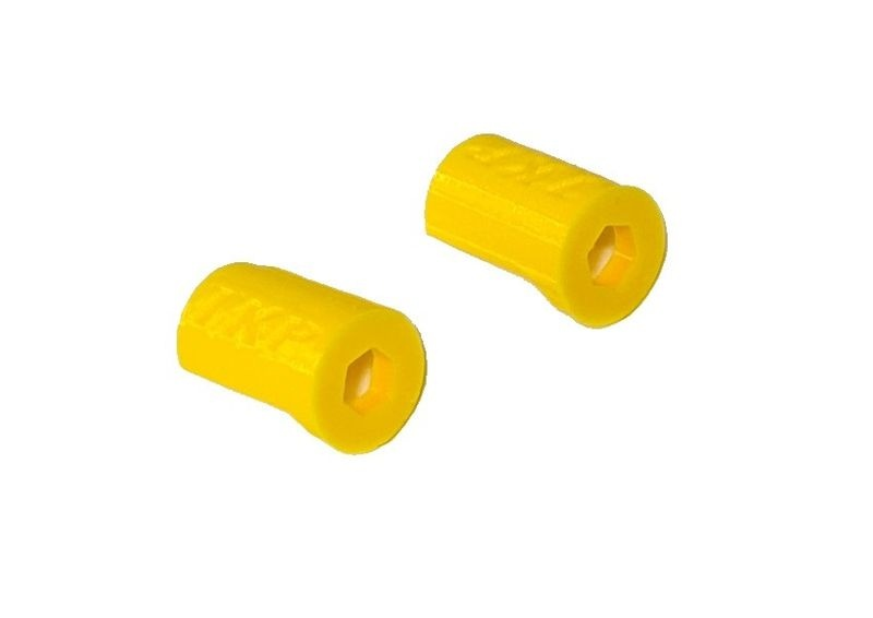 JS-Parts ultraflex Dämpferschoner gelb passend für