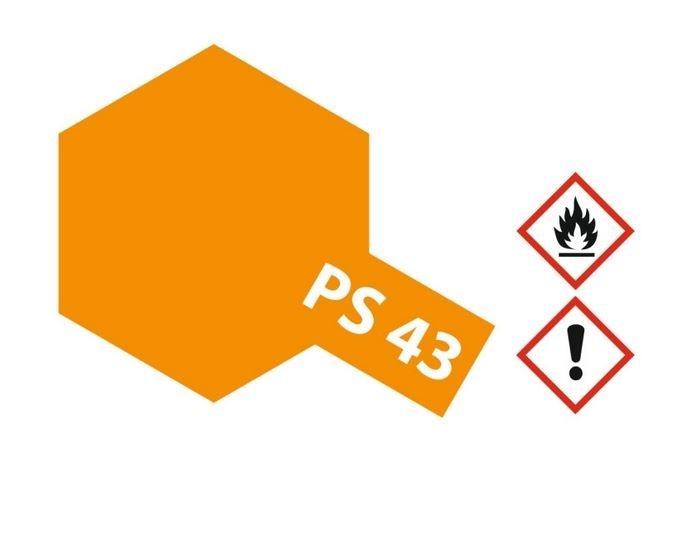 Tamiya Lexanlack PS 43 translucent orange