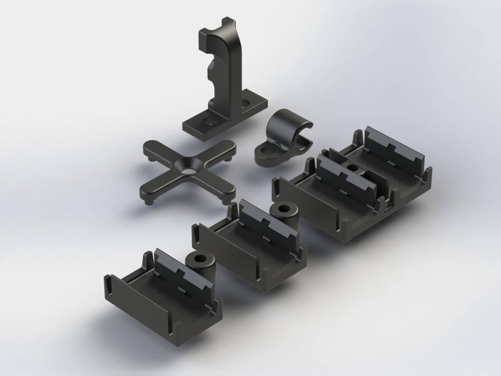 Auslauf - Arrma RC Kabelhalter-Set